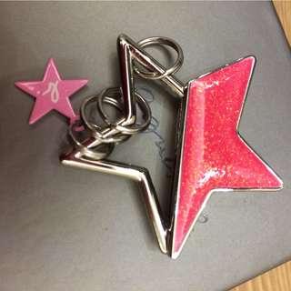 Agnes b key ring