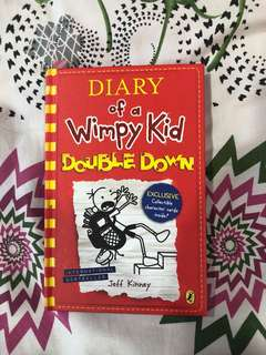 DIARY OF A WHIMPY KID - DOUBLE DOWN