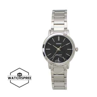 FREE DELIVERY *CASIO GENUINE* [LTPE145D-1A] 100% Authentic with 1 Year Warranty! LTP-E145D1A LTP-E145D-1A LTPE145D1A