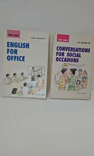 English conversation for special purpose