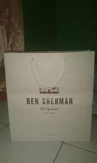 Paperbag ben sherman