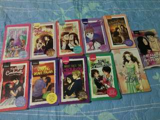 11 Wattpad books for only 800pesos!
