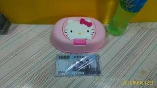 🚚 日本製 Hello kitty  凱蒂貓 面紙盒 / 濕紙巾盒   約18*15 cm ~~