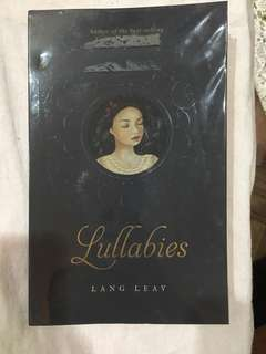 Lullabies by Lang Leav (With plastic cover)