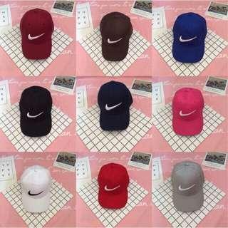 Nike baseball cap / white cap / black cap / hat / caps