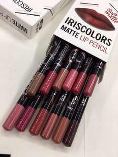 Iriscolor matte lip pencil