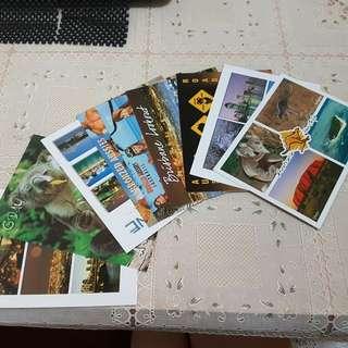 🚚 澳洲購入明信片