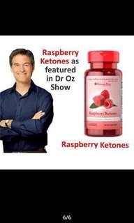 Puritan's Pride Raspberry Ketones