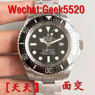 Rolex Deep-sea 1166600大黑水鬼 頂級新品 44mm 面交 VR工廠2018MAX升級版\