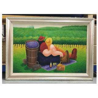Painting - Picnic (Clearance stock)