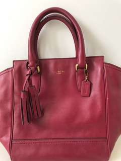 Authentic Coach Legacy Leather Mini Tanner