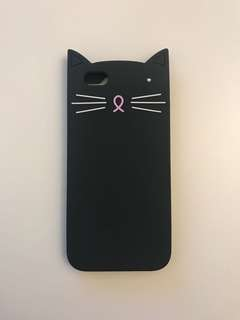 iPhone 6 Silicone Cat Case