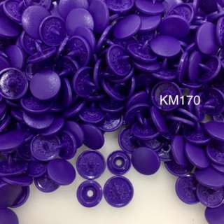 KM170	GRAPPA: Matte T5(12mm) Snap Button, 50 set(200pcs)