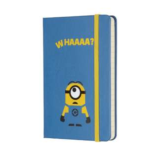 [IN STOCK] Moleskine Minion Notebook Lined [Limited edition]