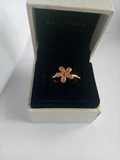 Pandora daisy ring 925 Italy silver