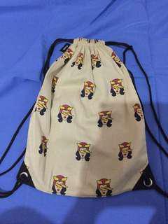 Artwork String Tote Bag