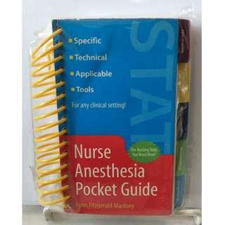Nurse Anesthesia Pocket Guide