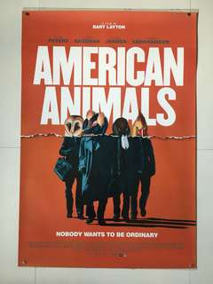 American Animals Original Double-sided Movie Poster 27x40