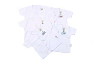IN STOCK Baby clothes newborn clothes white top (code: SSNW)