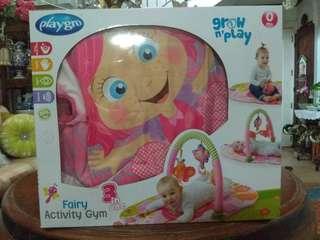 Baby activity gym mat