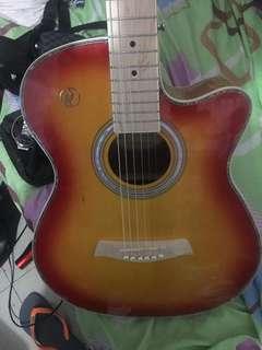 Rj acoustic guitar