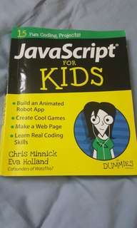 Java Script book for sale