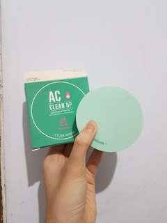 ETUDE HOUSE AC CLEAN UP BB CUSHION SHADE LIGHT BEIGE FOR ACNE SKIN