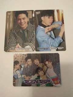 Teen Top Yescard
