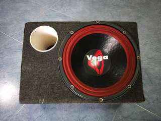 "Cerwin Vega 124 old school 12"" woofer with ported box"
