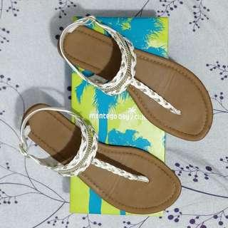 Montego Bay Club  White/Gold Sandals