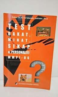 Test Bakat,  Minat,  Sikap & Personaliti
