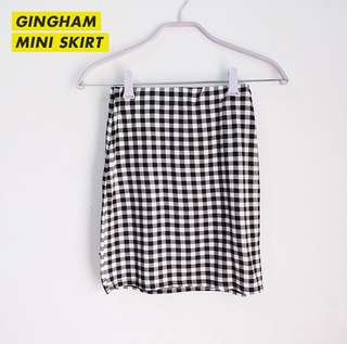 NEW LOOK GINGHAM SKIRT