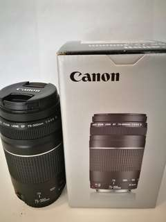 Canon EF 75-300mm F4-5.6 lll