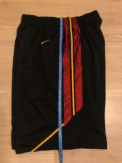Nike 波褲 NCAA Authentic USC NBA 落場版 used shorts jersey Size L