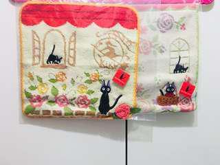 日本直送🇯🇵魔女宅急便貓貓手巾🐈