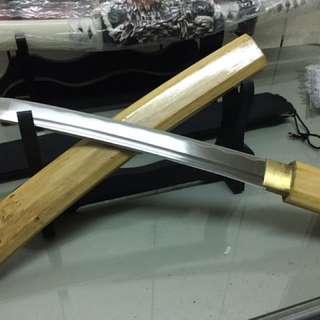 原木武士刀(短款)