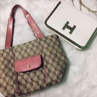 Pink Bundle Bag