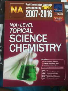 N Level Topical Chemistry TYS