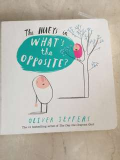 Oliver Jeffers what's the opposite