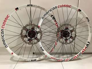 American Classic Tubeless Ready MTB Wheelset