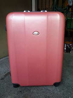 Large size heavy duty luggage bag with numerical lock from japan