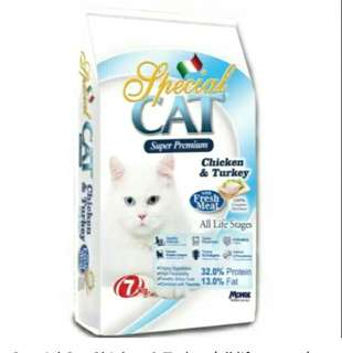 Special Cat Chicken & Turkey (all life stages) Cat dry Food