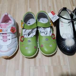 女童鞋3對