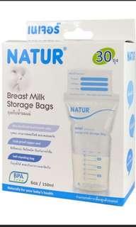 Natur Breast milk Storage Bag