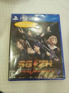 全新 ps4 school girl zombie hunter