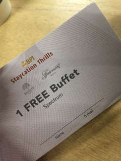 Staycation thrills coupons and buffet coupons