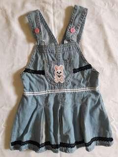 Baby Dress (soft denim)