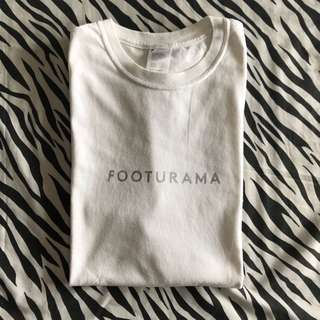 Footurama fff logo past future sense white tshirt sz medium