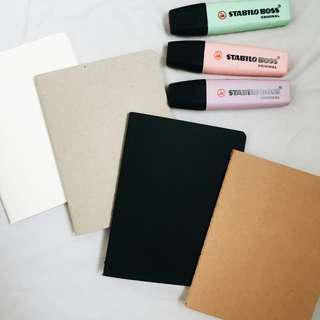 4in1 Notebooks / Plain / Blank