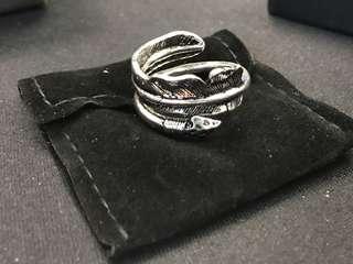 羽毛+箭 Ring (size :10)